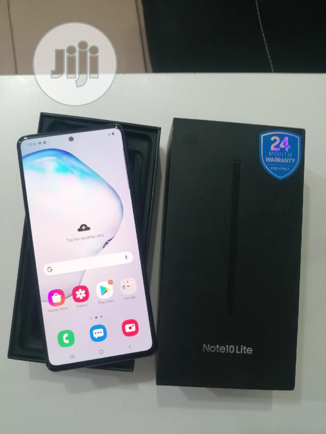 Samsung Galaxy Note 10 Lite 128 GB Black | Mobile Phones for sale in Wuse 2, Abuja (FCT) State, Nigeria