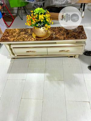 Marble TV Stand With Luxury Finishing | Furniture for sale in Abuja (FCT) State, Garki 2