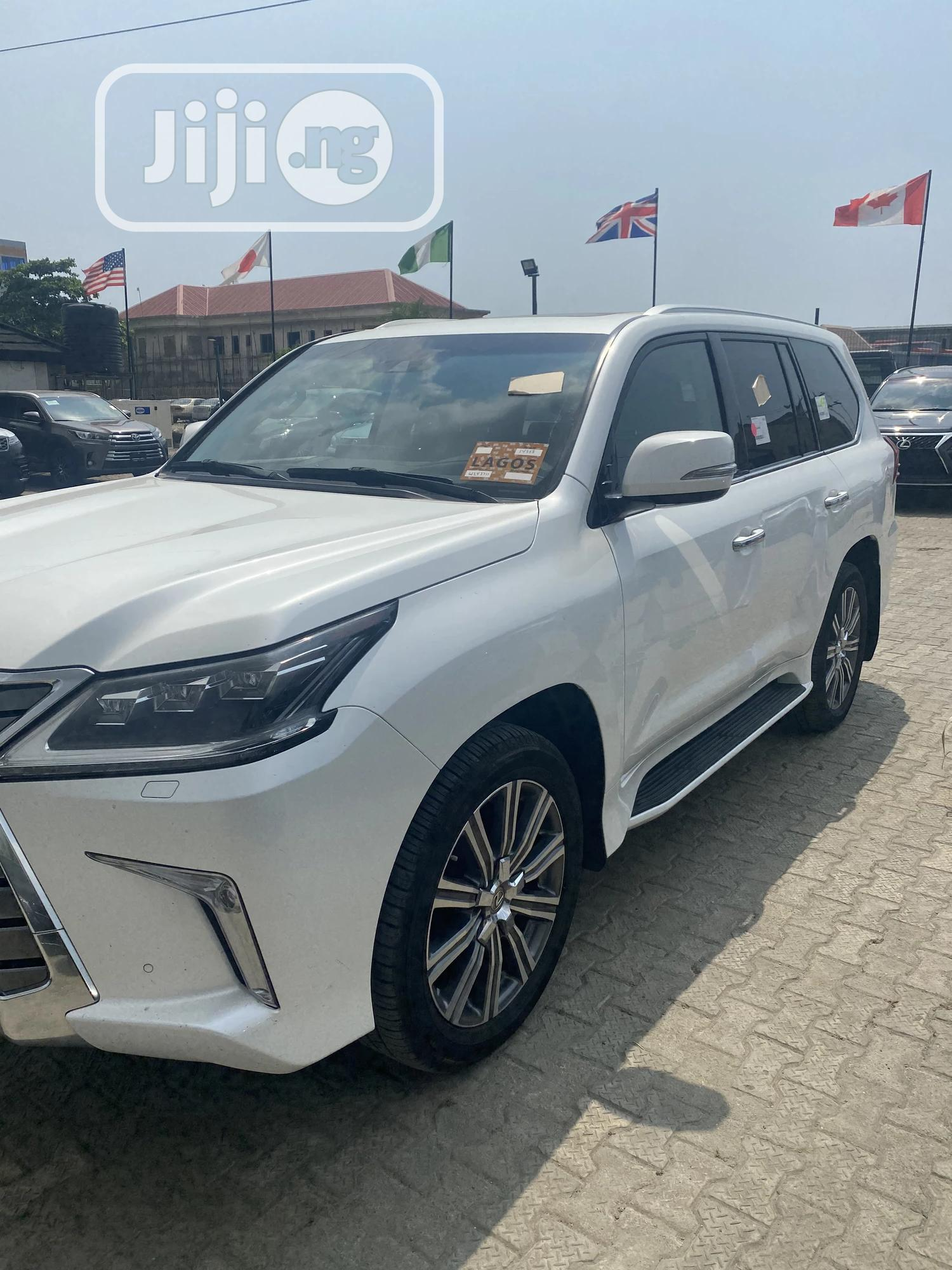 Lexus LX 2017 570 Base White | Cars for sale in Lekki, Lagos State, Nigeria