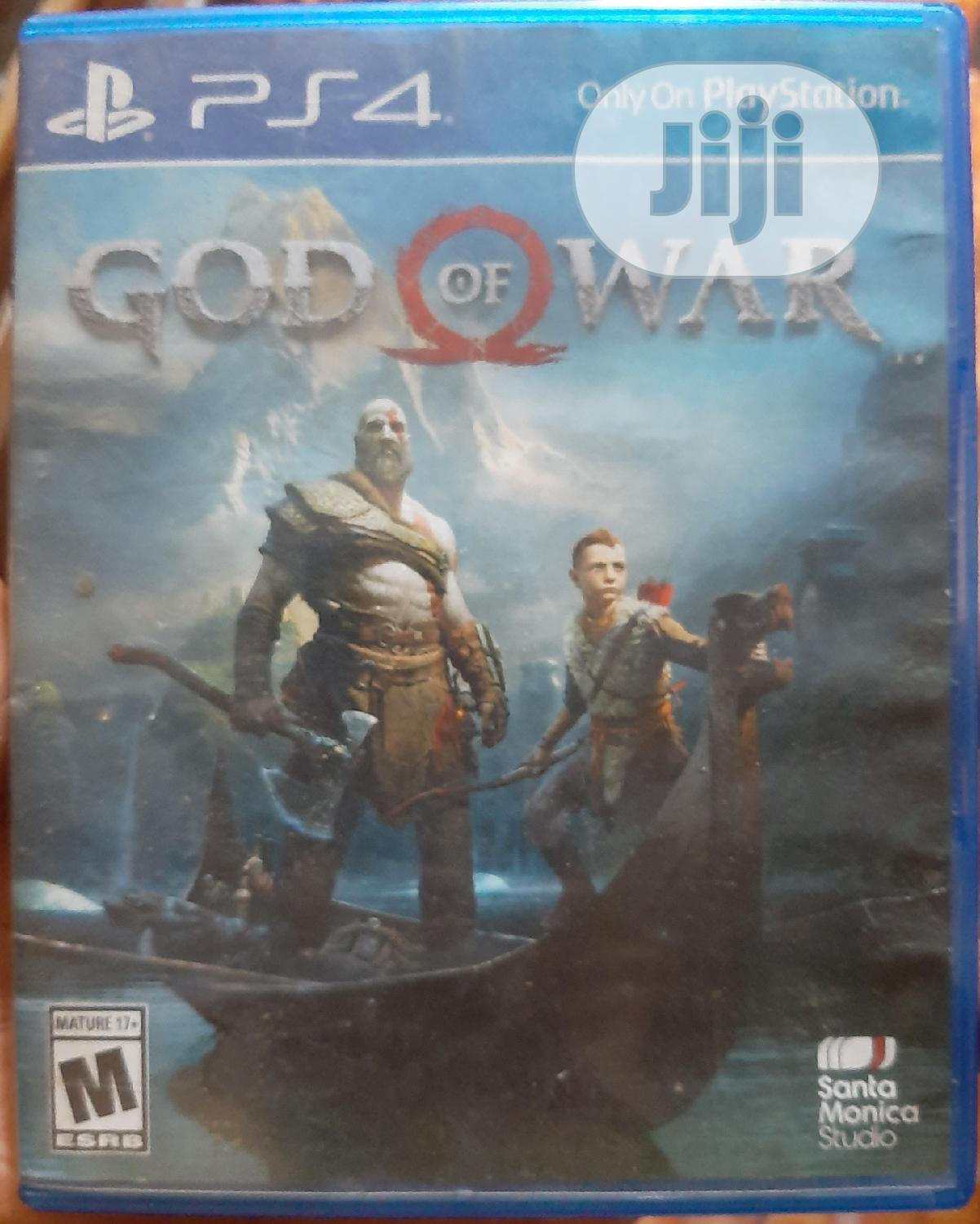 Ps4 Game - God of War for Sale in Benin ...