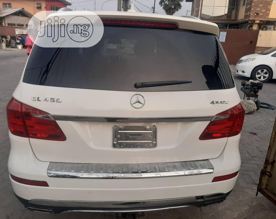 Archive: Mercedes-Benz GL Class 2013 GL 450 White