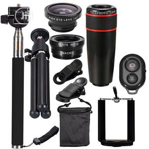 10PCS 8X Telephoto Universal Detachable Mobile Phone Lens | Accessories & Supplies for Electronics for sale in Lagos State, Surulere