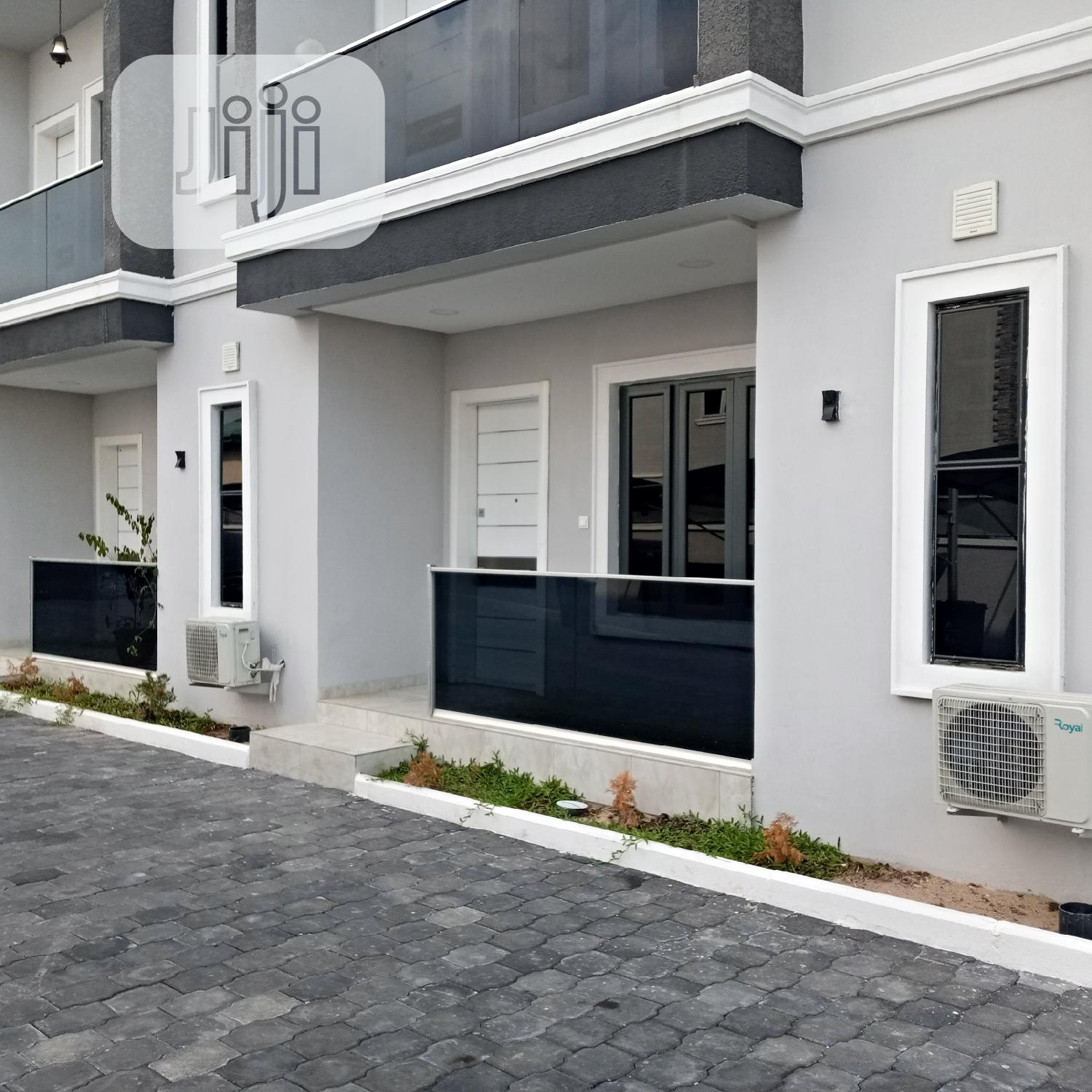 Newly Built 4 Bedroom Service Townhouse With a Room B.Q