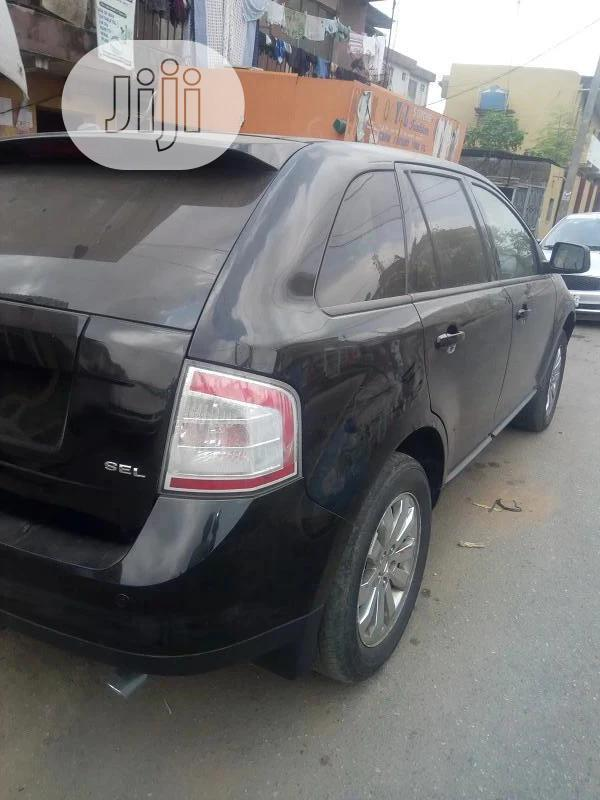Ford Edge 2007 SE 4dr FWD (3.5L 6cyl 6A) Black | Cars for sale in Ikeja, Lagos State, Nigeria