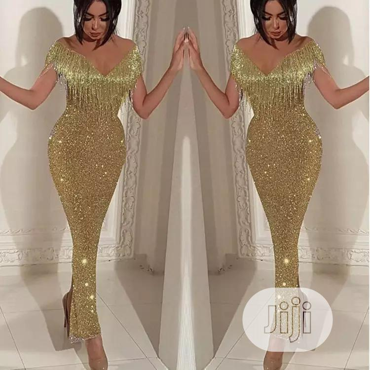 Customized Women's Wear High-End Sequined Sexy Tassel Dress   Clothing for sale in Lekki, Lagos State, Nigeria