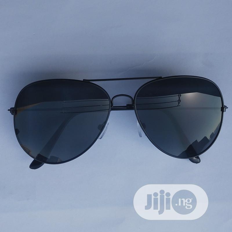 Aviator Unisex Stylish Sunglasses - Black   Clothing Accessories for sale in Ikeja, Lagos State, Nigeria