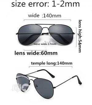 Aviator Unisex Stylish Sunglasses - Black   Clothing Accessories for sale in Lagos State, Ikeja
