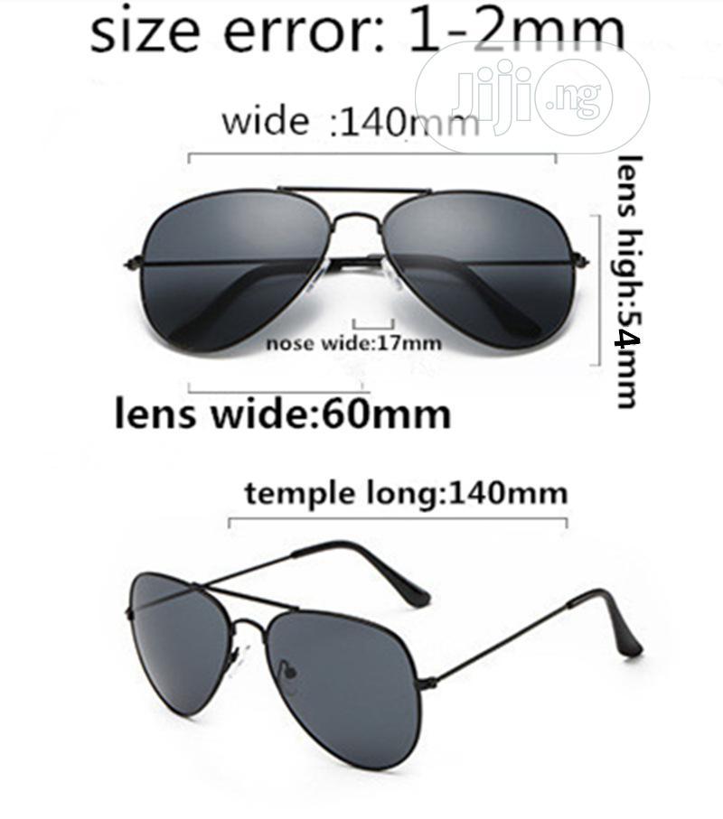 Aviator Unisex Stylish Sunglasses - Black