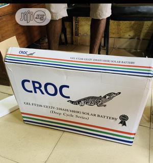 210ah 12volts Croc Solar Battery   Solar Energy for sale in Akwa Ibom State, Ikot Ekpene