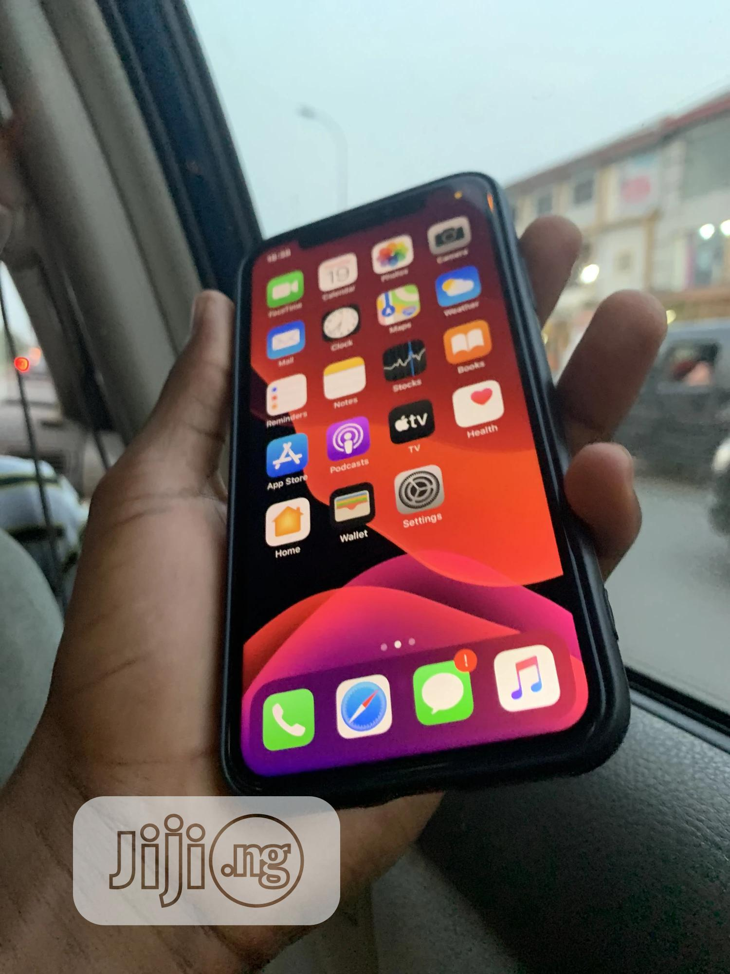 Apple iPhone X 64 GB Black   Mobile Phones for sale in Port-Harcourt, Rivers State, Nigeria