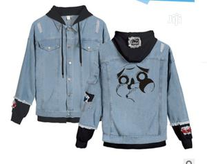 Deluxe Denim Jeans Jacket With Hoodie | Clothing for sale in Oyo State, Ibadan