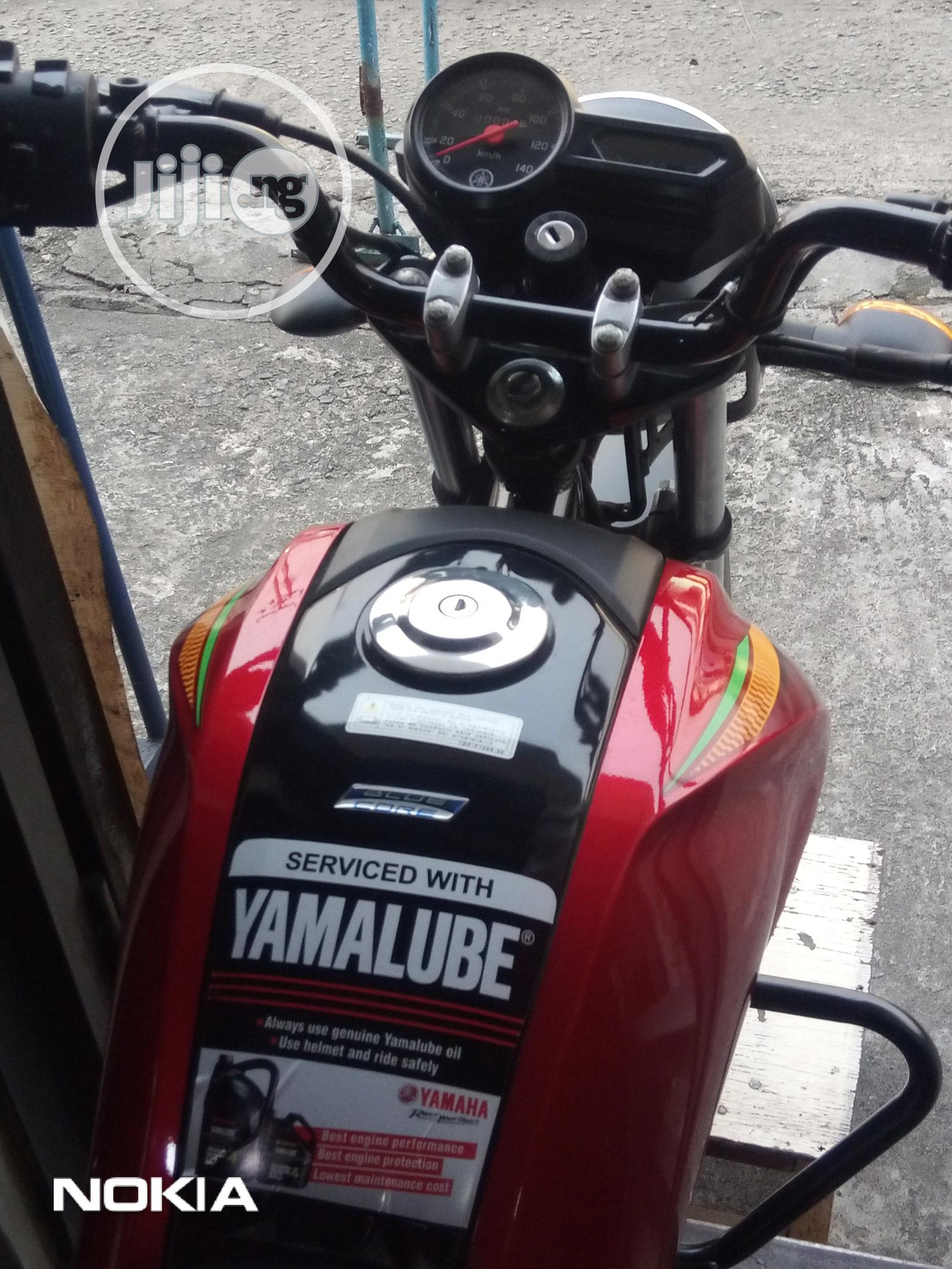 Archive: New Yamaha Crux 2012 Red