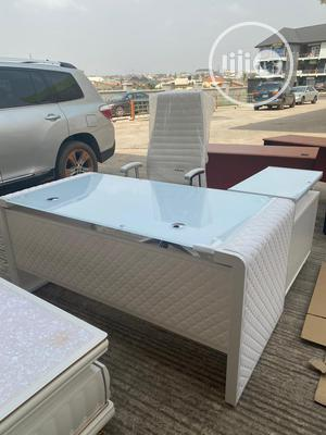 Office Executve Table 1.6m White   Furniture for sale in Lagos State, Ikeja