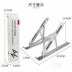 Aluminum Foldable Laptop Stand   Computer Accessories  for sale in Lagos State, Ikeja
