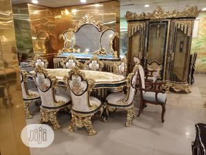 Royal Dinning Table by 8seaters, Console Mirror, Wardrobe   Furniture for sale in Lagos State, Ojo