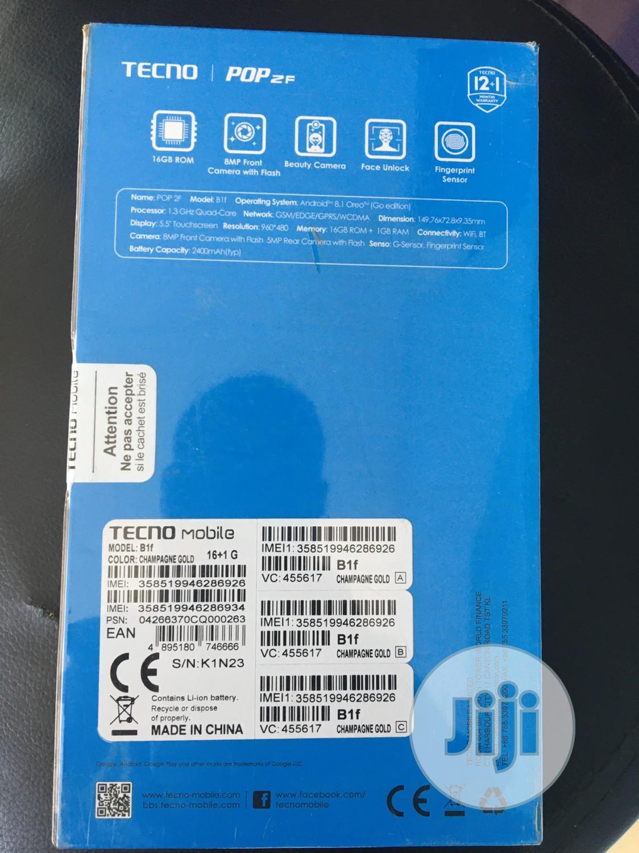 New Tecno Pop 2F 16 GB Black | Mobile Phones for sale in Ibadan, Oyo State, Nigeria