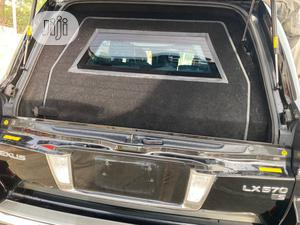 Lexus LX 2015 570 Base Black   Cars for sale in Abuja (FCT) State, Garki 2