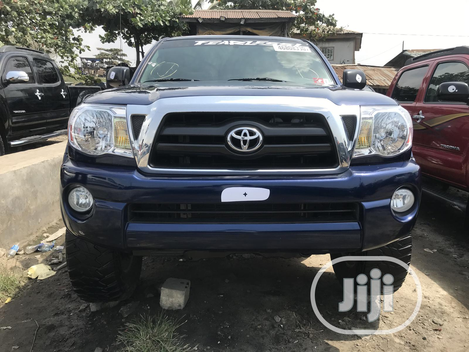 Archive: Toyota Tacoma 2008 4x4 Double Cab Blue