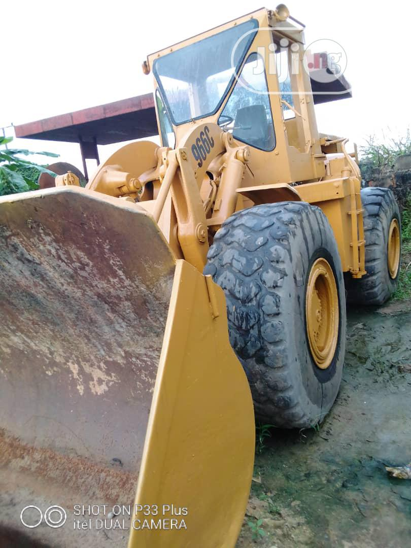 Very Clean Payloader 966C for Sale in Port Harcourt.