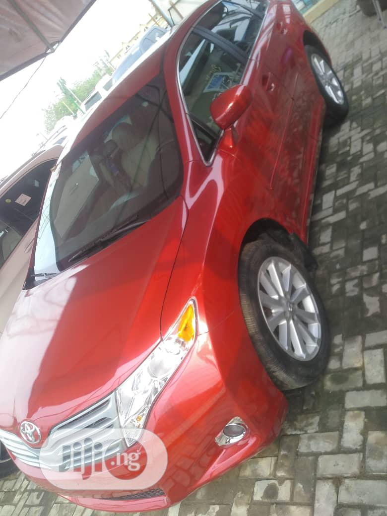Toyota Venza 2010 Red | Cars for sale in Lekki, Lagos State, Nigeria