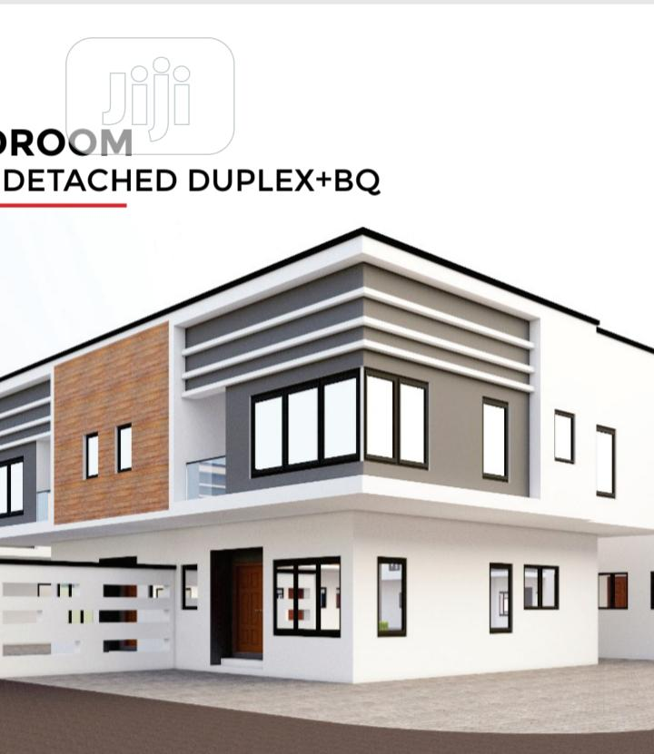 Luxury And Smart 3 Bedroom Semi-detached Duplex + BQ | Houses & Apartments For Sale for sale in Abijo, Ibeju, Nigeria