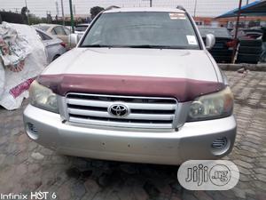 Toyota Highlander 2004 Silver | Cars for sale in Lagos State, Lekki