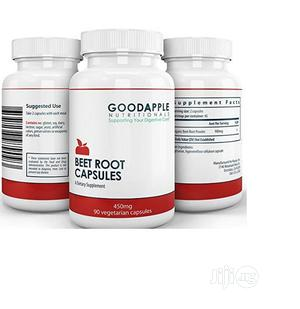 GOODAPPLE NUTRITIONALS Beet Root Capsules Supports Energy, S   Vitamins & Supplements for sale in Lagos State, Amuwo-Odofin