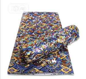 Ankara With Sequins   Clothing for sale in Lagos State, Ikoyi