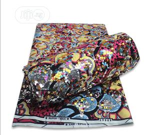 Ankara With Sequins   Clothing for sale in Lagos State, Surulere