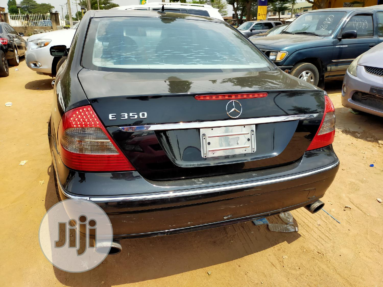Mercedes-Benz E350 2008 Black   Cars for sale in Ikotun/Igando, Lagos State, Nigeria