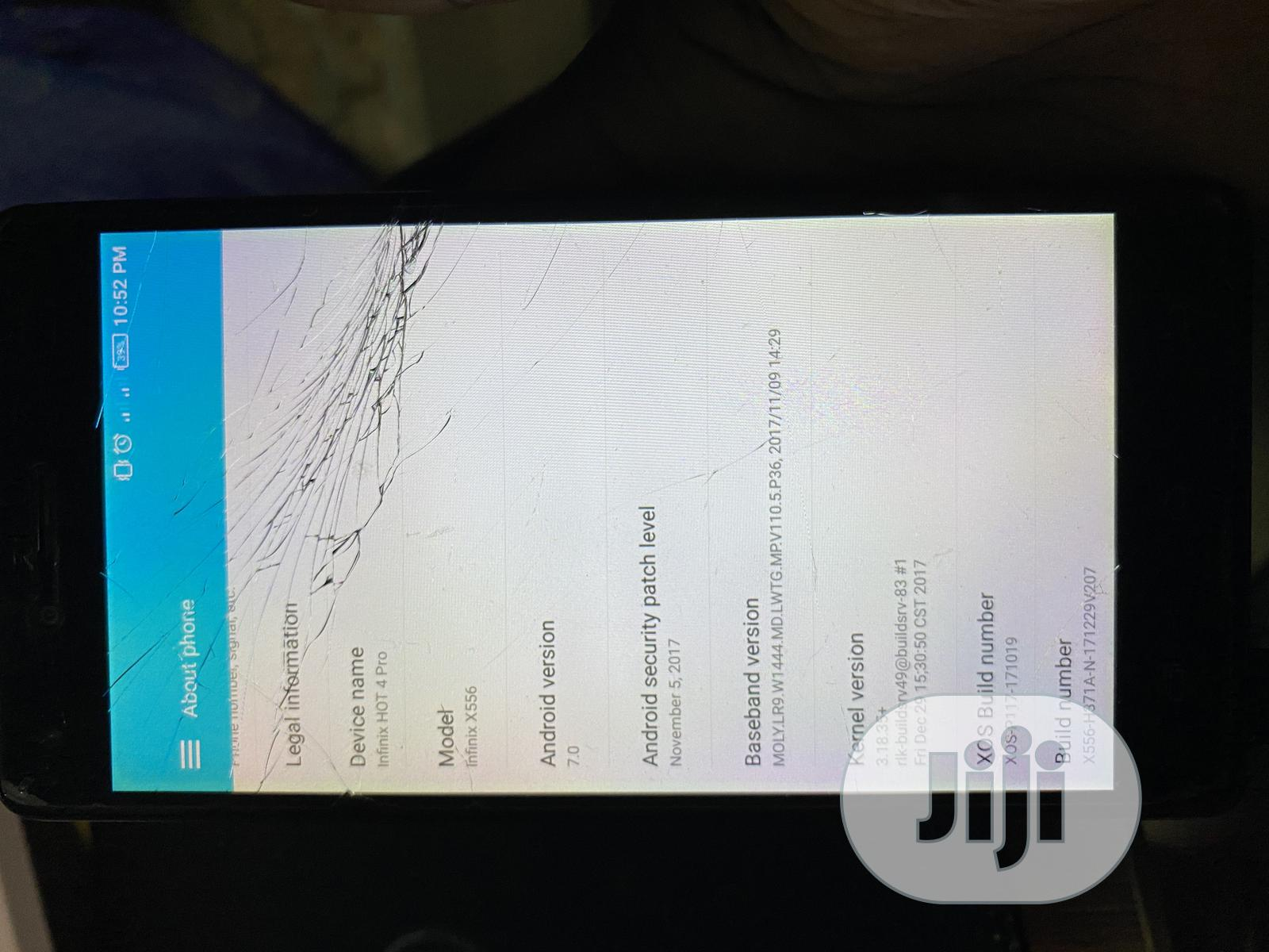 Infinix Hot 4 Pro 16 GB Gold | Mobile Phones for sale in Ibadan, Oyo State, Nigeria