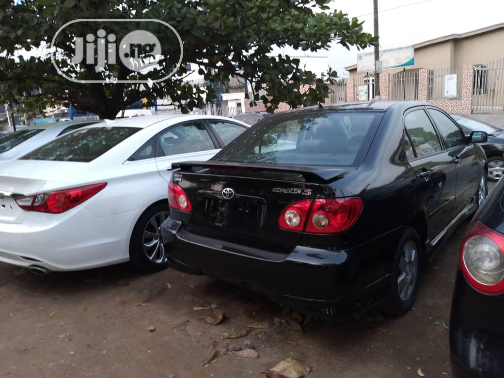 Toyota Corolla 2004 1.4 D Automatic Blue | Cars for sale in Magodo, Lagos State, Nigeria