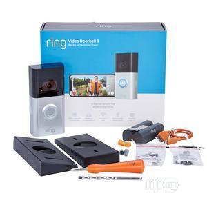 Ring Video Doorbell 3 (Satin Nickel) | Home Appliances for sale in Lagos State, Lekki