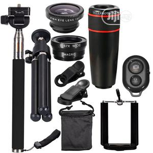 8X Telephoto 10 IN 1 Mobile Phone Lens Universal Detachable   Accessories for Mobile Phones & Tablets for sale in Oyo State, Ibadan