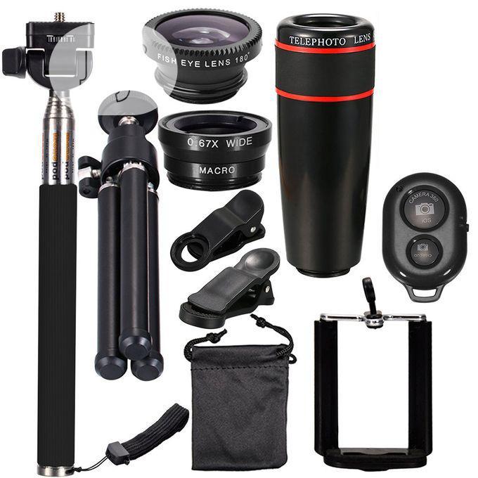 10 In 1 Telescope 8x Universal Mobile Phone Lens
