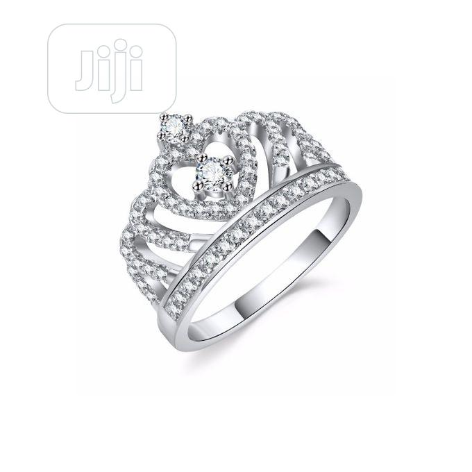 Archive: Luxury Silver Zirconia Women Engagement Ring