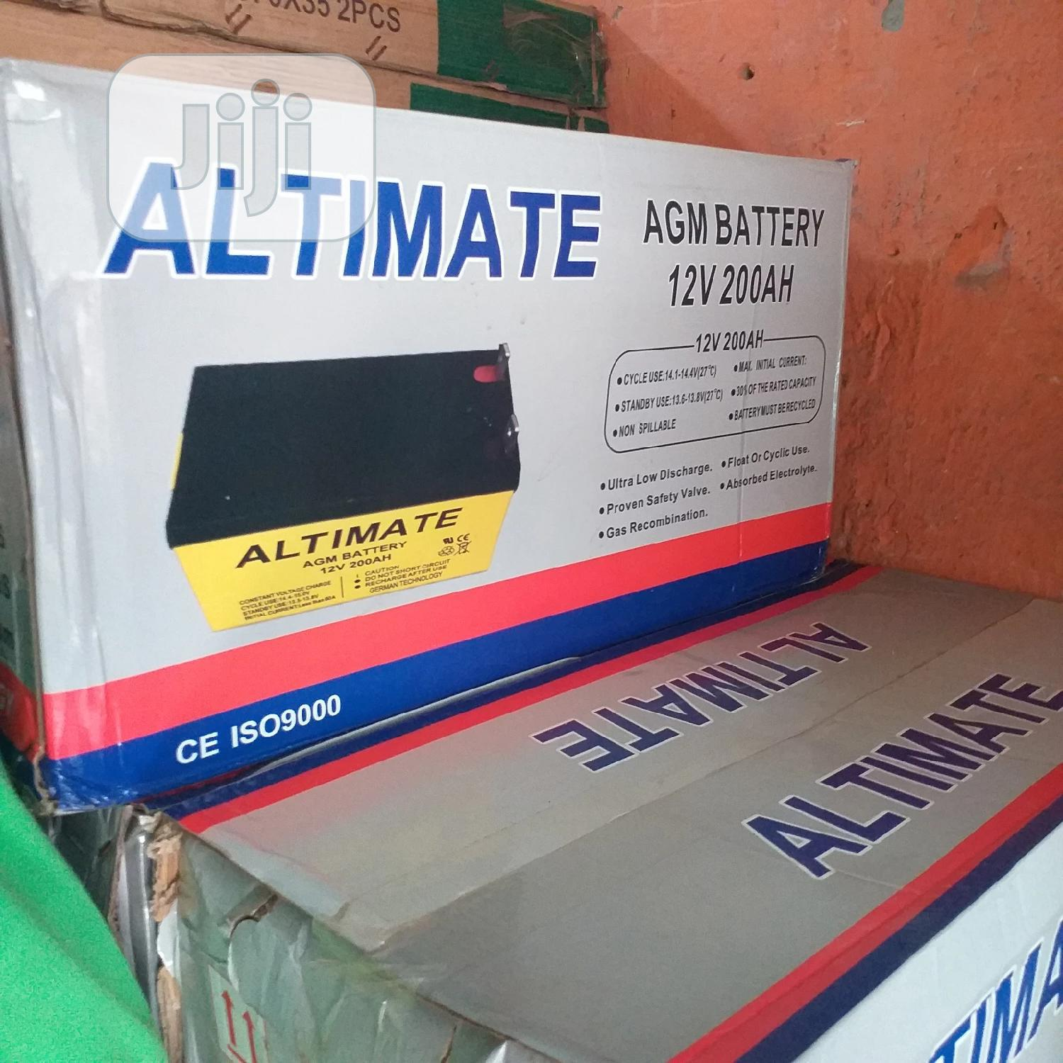 Altimate AGM Battery 12V 200ah