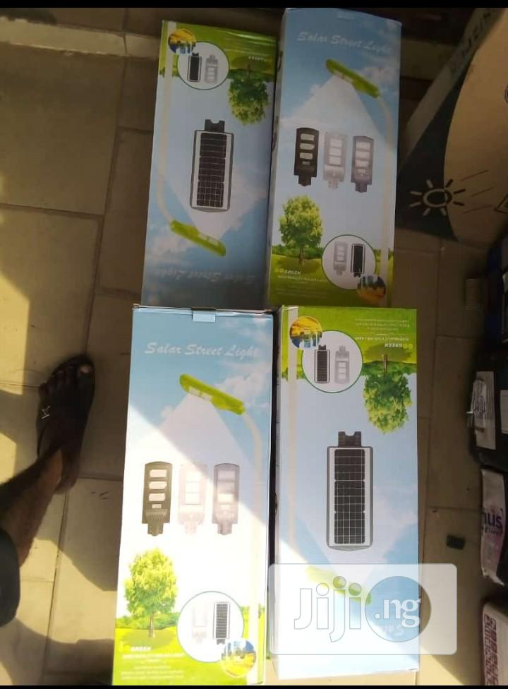 120watts Solar LED Light With Motion Sensor Remote Control   Solar Energy for sale in Benin City, Edo State, Nigeria