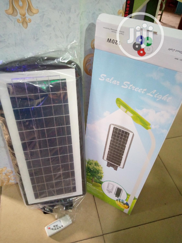 120watts Solar LED Light With Motion Sensor Remote Control
