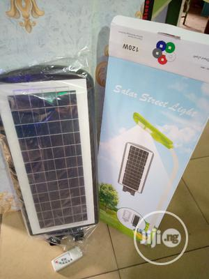 120watts Solar LED Light With Motion Sensor Remote Control   Solar Energy for sale in Edo State, Benin City