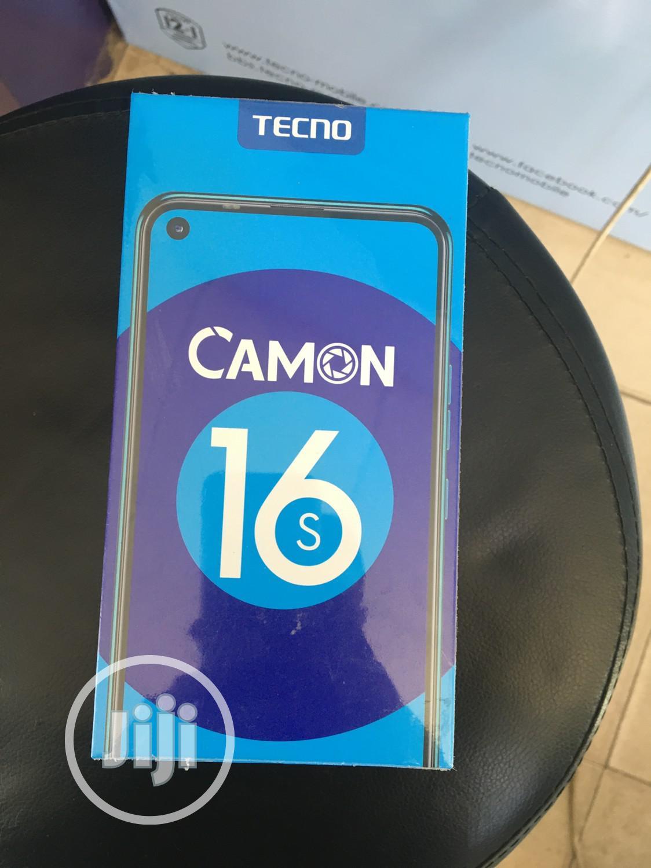Archive: New Tecno Camon 16S 128 GB Gold