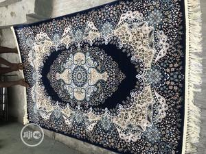 Navy Blue Background Design Persian Center Rugs 5/7 and 7/10   Home Accessories for sale in Lagos State, Agege