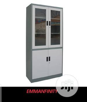 Metal Shelf Half Glass | Furniture for sale in Abuja (FCT) State, Asokoro