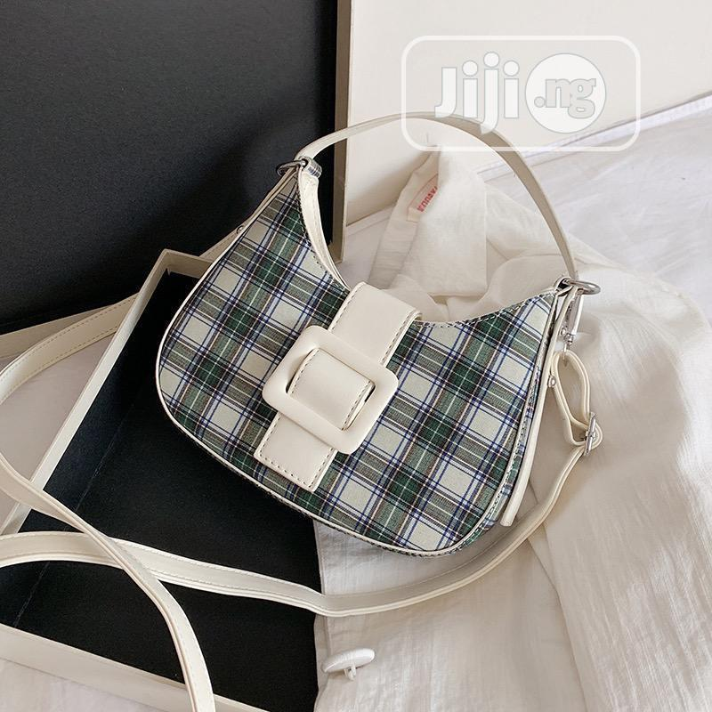 Archive: White and Black Clutch Bag