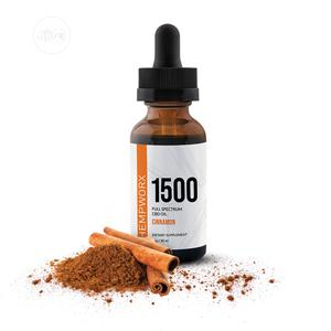 1500mg Full Spectrum Cbd Oil - Cinnamon Flavour Healthy Supp | Vitamins & Supplements for sale in Lagos State, Amuwo-Odofin