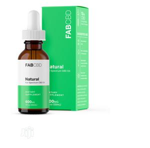 Cbd Oil Full Spectrum 600mg 30 Ml Natural | Vitamins & Supplements for sale in Lagos State, Amuwo-Odofin