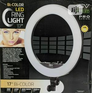 """Smith-Victor 17"""" Bi-Color LED Ring Light 
