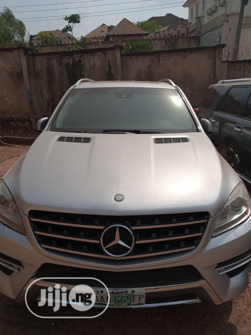 Mercedes-Benz M Class 2013 ML 350 4Matic Gray