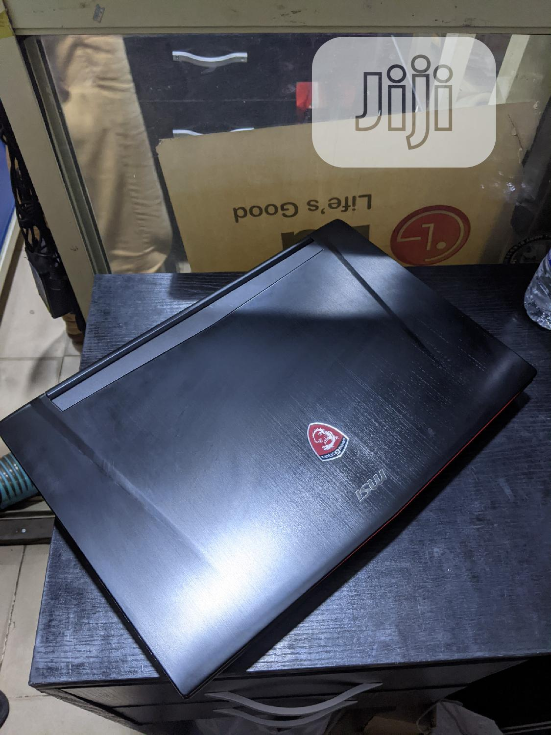 Laptop MSI GT62VR 7RD Dominator 16GB Intel Core I7 HDD 1T | Laptops & Computers for sale in Ikoyi, Lagos State, Nigeria