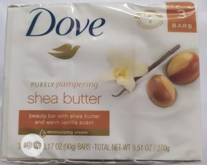 Dove Shea Butter Bar Soap (3x1)   Bath & Body for sale in Lagos State, Yaba